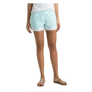 Vineyard Vine Aqua Splash Pull on shorts
